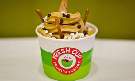 Frozen Yogurt at Fresh Cup Frozen Yogurt (Up to 50% Off)