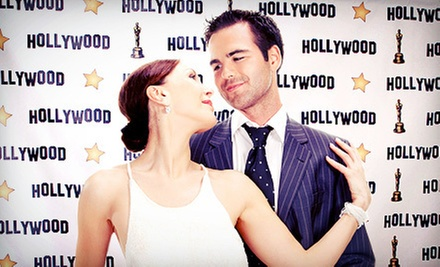 $599 for a Red-Carpet-Themed Event Photo Package from Photo Booth of the Stars ($1,198 Value)