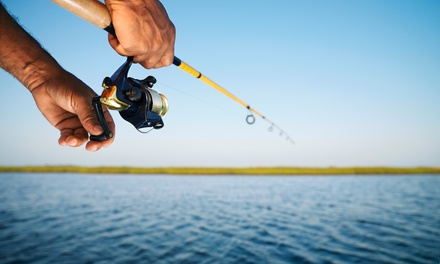 Night- or Four-Hour Fishing Trip for One, Two, or Four (Up to 56% Off). Six Options Available.