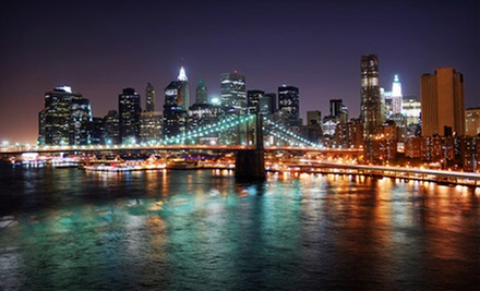 Saturday-Night Cruise on the East River for One or Two from SaturdayNightCruises.com (Up to 58% Off)