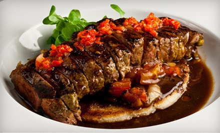 South American Dinner and Wine for Two with Nightclub Entrance at The Copacabana (Up to 67% Off). Two Options Available.