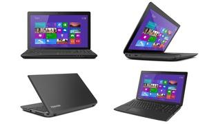 "Toshiba Satellite 15.6"" Hd Laptop With Intel Celeron Processor, 2gb Ram, & 500gb Hard Drive (manufacturer Refurbished)"