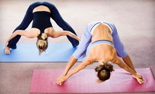 30 Days of Unlimited Yoga Classes or 10 Classes at Yoga Patch (Up to 67% Off)