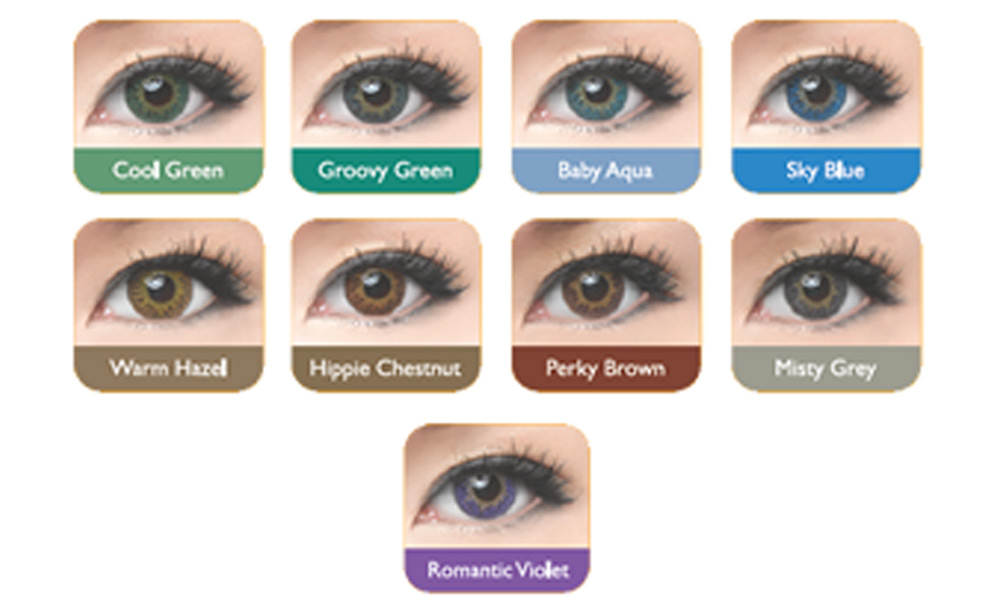 Freshkon Coloured Contact Lenses