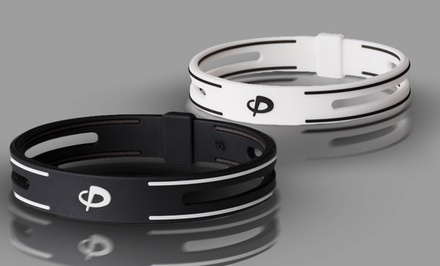 Phiten S-Pro Titanium Bracelet in Black or White. Multiple Sizes Available. Free Returns.