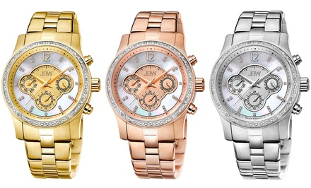 JBW Women's Nova Diamond Accent Watches. Multiple Colours Available.