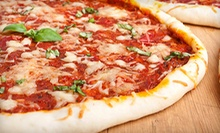 One Full-Sheet Pizza with Wings, Three Full-Sheet Pizzas, or $12.50 for $25 Worth of Pizza and Burgers at Guys Pizza Co.