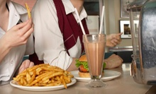 American Food for Two, Four, or Eight or More at Original Mel's Diner (Half Off)