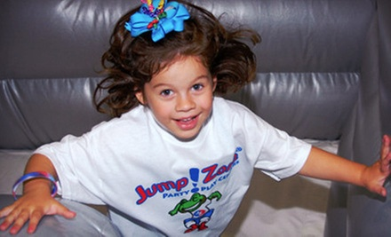 $25 for Six Open-Play Sessions at Jump!Zone ($59.94 Value)