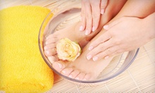 One or Three Shellac Manicures with Deluxe Pedicures at Denean Lewis Salon (Up to 62% Off)