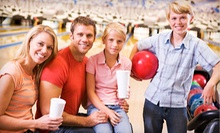 $30 for a Bowling Package for Four with Shoe Rental and Arcade Games at Grand Central ($62 Value)