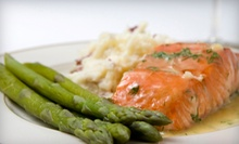 American Food for Dinner for Two or Four at Sullivan Station Restaurant (Up to 56% Off)