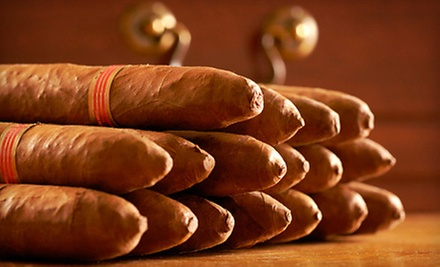 10-Cigar Sampler Pack or $10 for $20 Worth of Any Cigars at J Shepherd Cigars