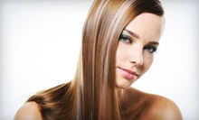 Haircut Package with Optional Partial or Full Highlights at Vel's Hair Salon (Up to 68% Off)