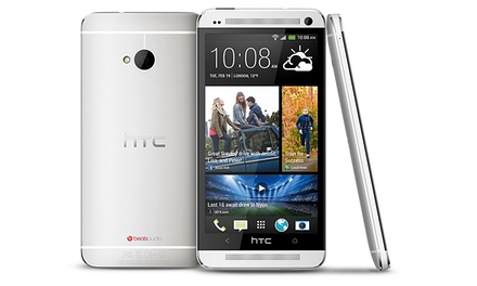 HTC One M7 32GB Android Smartphone (GSM Unlocked; Refurbished)