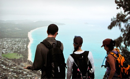 Hiking Tour for Two or Four, or Day Trip for Up to Four from Hiking Hawaii Cafe (Up to 60% Off)
