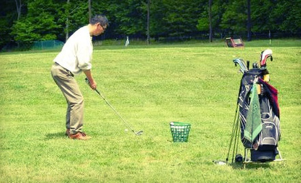 Two or Four Large Buckets of Driving Range Balls at Mt. Freedom Golf (Up to 54% Off)