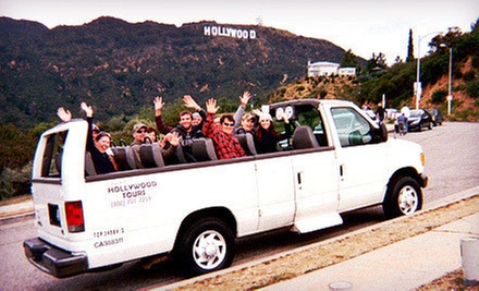 Two-Hour Hollywood-Sights Tour for One or Five from Rockin Hollywood Tours (Up to 58% Off)