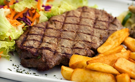 Grill Fare and Drinks for Two or Up to Four at Charlie Brown's Family Sports Grill & Bar (Up to 52% Off)