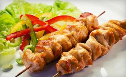 $15 for Four Groupons, Each Good for $7.50 Worth of Mediterranean Cuisine at Boston Kebab House ($30 Value)