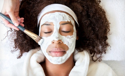 One Deep-Cleansing Facial or Three Mini Facials at I.V's Salon & Spa (Up to 61% Off)