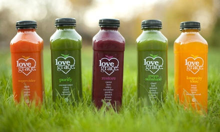 Three- or Five-Day Juice Cleanse from Love Grace (Up to 35% Off)