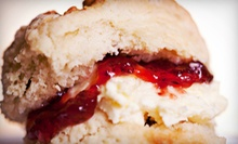 Gourmet Tea and Treats at Low Arts Tea Haven (Up to 57% Off). Two Options Available.