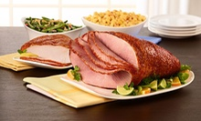7- to 8-Pound HoneyBaked Half Ham or HoneyBaked Premium Sliced Ham Dinner for Four from HoneyBaked Ham (Up to Half Off)