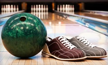 Three Games of Bowling, Shoe Rentals, Pizza, and Soda for Two or Four at Royal Lanes (Up to 53% Off)