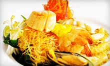 $15 for $30 Worth of Thai Cuisine for Dinner MondayThursday at Pad Thai Restaurant
