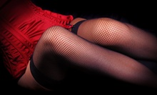 Basic or Deluxe Boudoir-Photography Package with Digital Images at Pink Butterfly (Up to 75% Off)