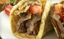 $8 for $16 Worth of Gyros, Pitas, and Wraps at Pita's Republic