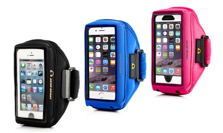 Gear Beast Case-Compatible Sports Armband for Samsung Galaxy and Apple iPhone