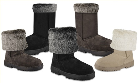 Rampage Allie Fur Boots. Multiple Colors Available. Free Returns.
