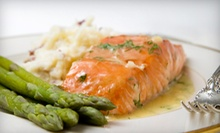 Bistro Dinner for Two or Four at Adagio Piano Lounge (Up to 58% Off)