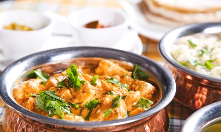 Vegetarian Indian Food for Dine-In or Takeout at Uru-Swati (Up to 45% Off). Two Options Available.