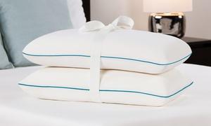 2-pack Of Comfort Revolution Molded Memory-foam Bed Pillows