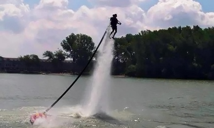 35-Minute Jetpack or Flyboard Experience for One or Two at Jet Pack Water Adventures (Up to 53% Off)