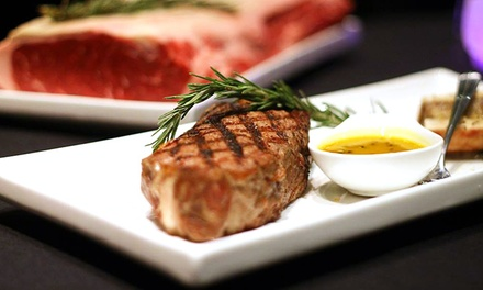 Five-Course Steak-House Dinner and Cabaret Show for 2 or 10 at CY Steak (Up to 48% Off)