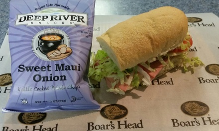 One Sandwich at Mills River Brewry LLC (45% Off)