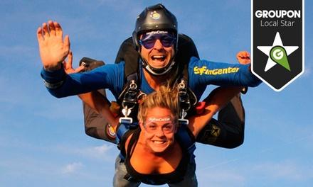 Sky Fun Center — Aeródromo de Proença-a-Nova: vale de desconto de 75€ ou 150€ para 1 ou 2 saltos Tandem desde 19,90€