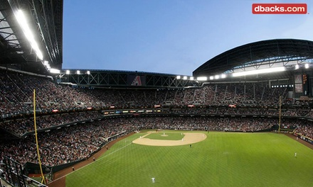 Arizona Diamondbacks Game at Chase Field on August 26, 27, 29, 30, or 31 (Up to 31% Off)