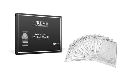 L'Reve Diamond Facial Mask 12-Pack