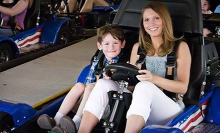$7 for Two Family Fun-Park Activities at Treetop Family Adventure ($14.95 Value)