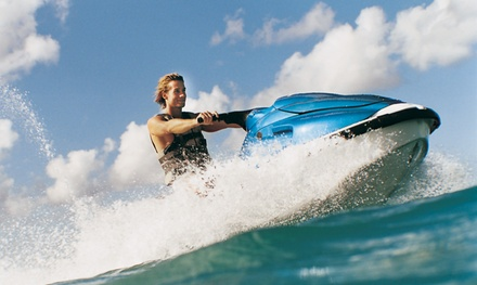 Jet Ski Rentals and Tours from Empire City Watersports (Up to 45% Off). Six Options Available.
