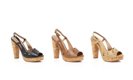Envy Women's Banked Cork Platform Sandals | Brought to You by ideel