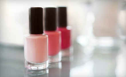 Spa Pedicure with a Spa, Acrylic, or Gel Manicure at Pure Luxe (Up to 58% Off)