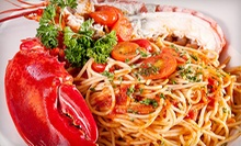 Italian Dinner for Two or Four or Italian Lunch at Casa Mia Trattoria &amp; Pizzeria (Half Off)