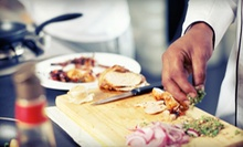 $169 for Two Tickets to a Group-Cooking Demonstration and Three-Course Meal with Chef Eric Greenspan ($350 Value)