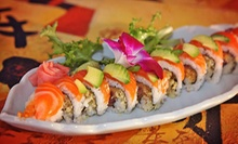 Sushi and Japanese Cuisine at Tokyo Bay Japanese Restaurant (Half Off). Two Options Available.